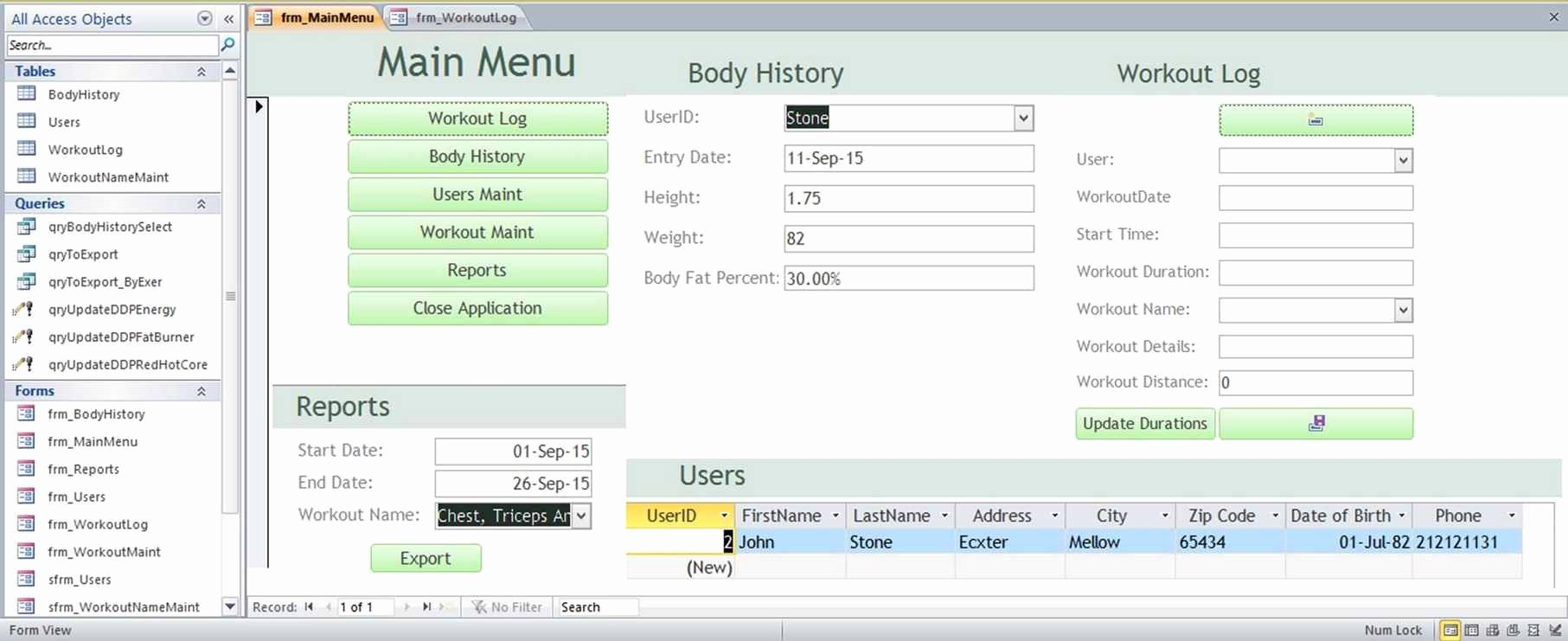 Ms Access Inventory Template Fresh Microsoft Access Family Tree Genealogy History Templates
