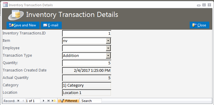 Ms Access Inventory Template Inspirational Inventory Database Template
