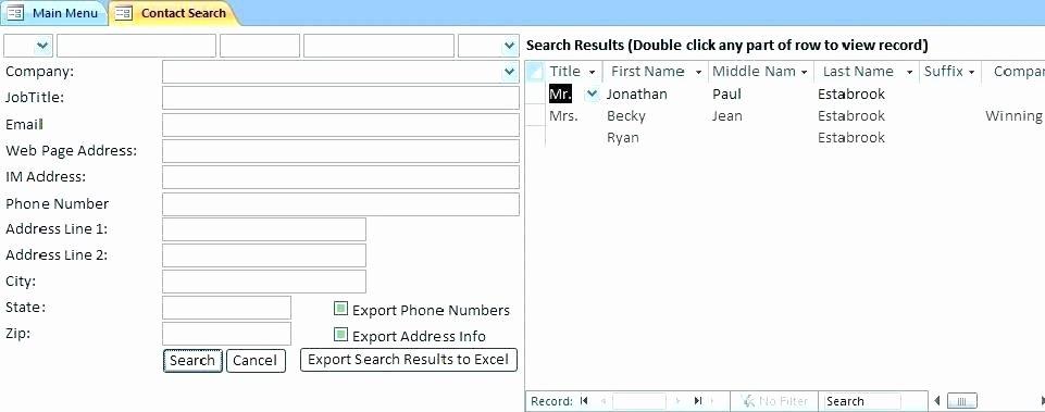 Ms Access Project Management Template Elegant Microsoft Access 2016 Project Management Template Ms