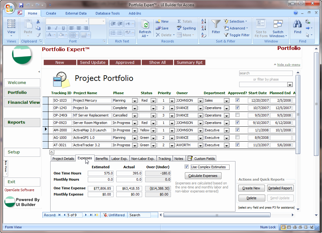 Ms Access Project Management Template New Microsoft Access Project Management Template Microsoft