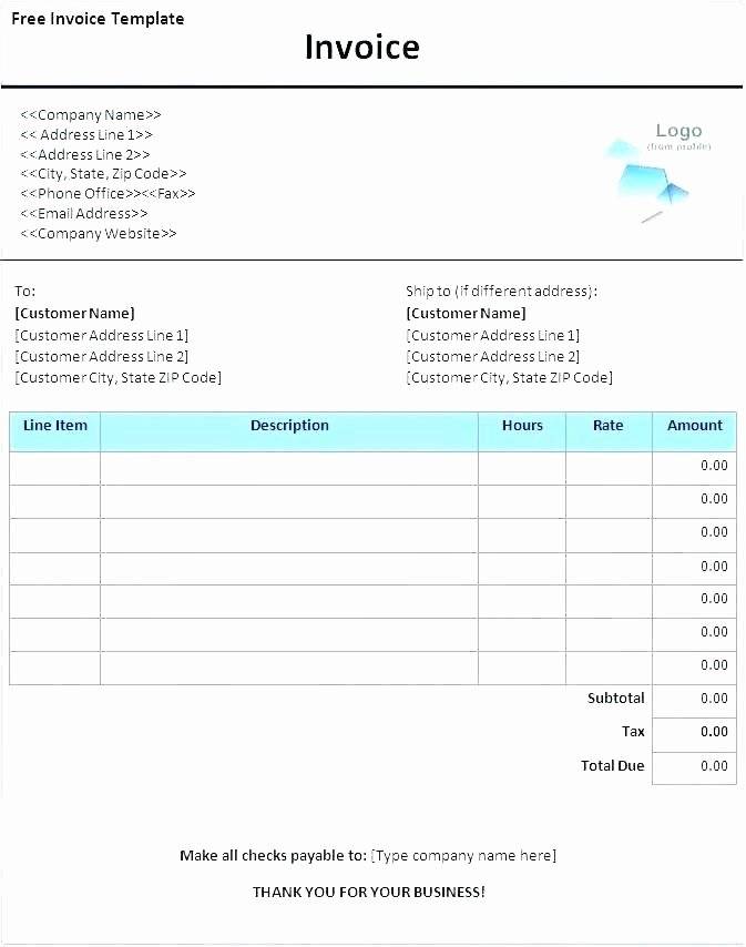 Ms Office Receipt Template Elegant Microsoft Office Word Invoice Template – Pranksmonkeyub