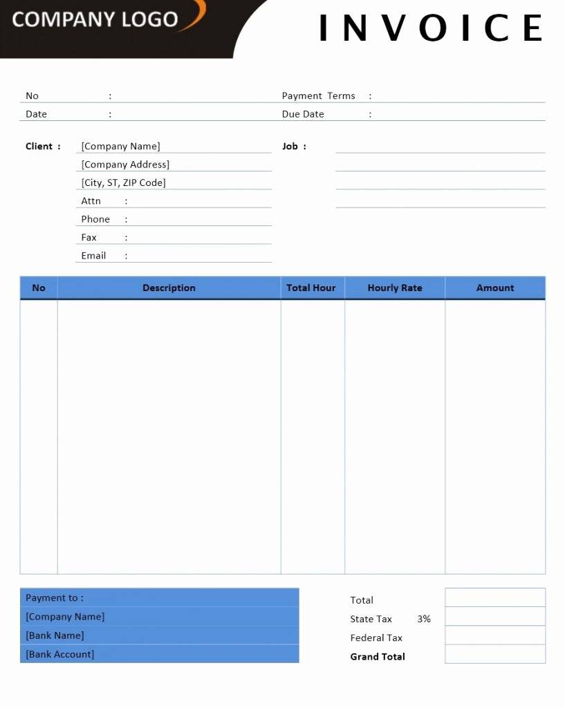 Ms Office Receipt Template Fresh Microsoft Fice Billing Invoice Templates Free