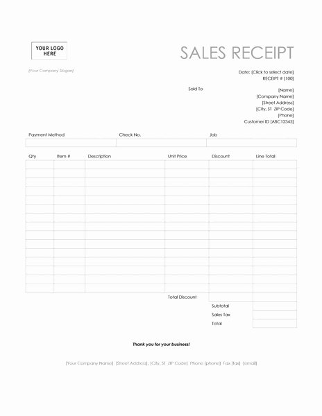 Ms Office Receipt Template New Invoice Receipt Template Invitation Template