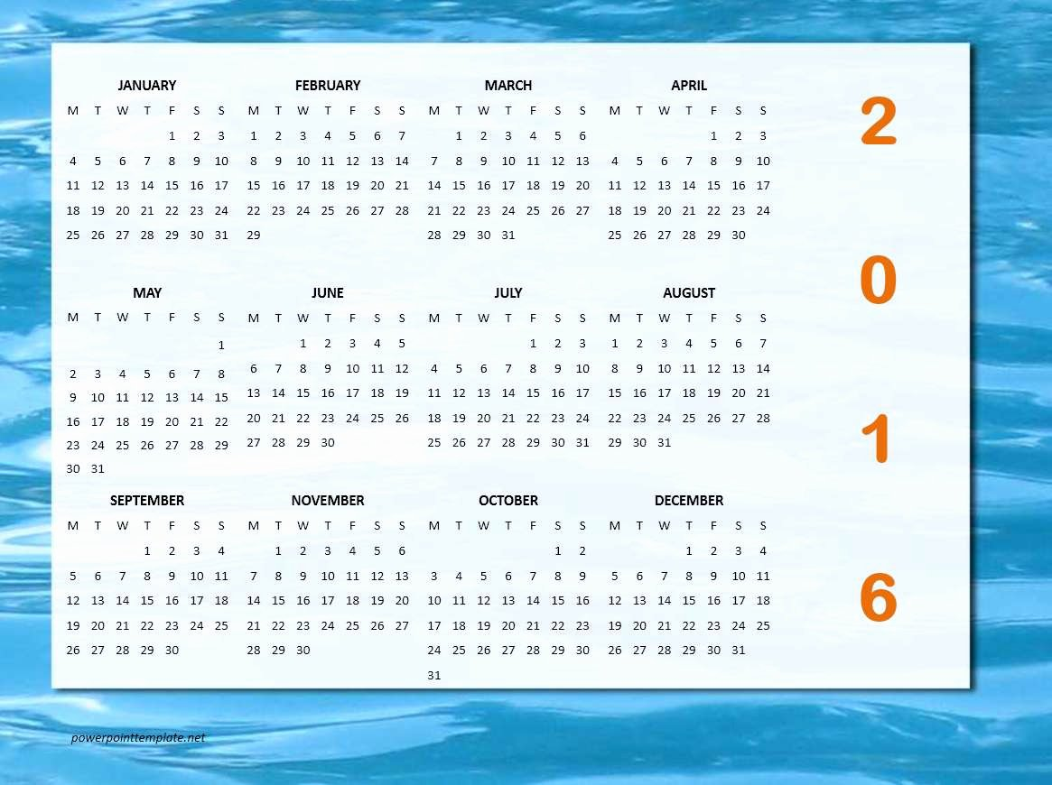 Ms Office Schedule Template Awesome 2016 Calendar Templates