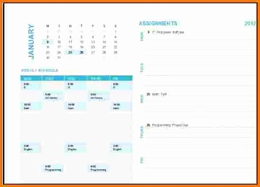 Ms Office Schedule Template Awesome Microsoft Office Calendar Templates