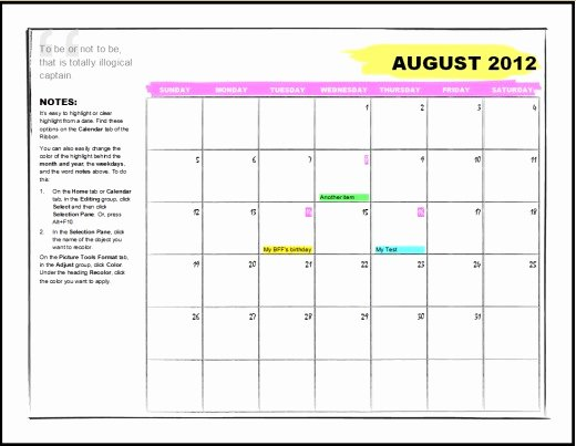 Ms Office Schedule Template New Microsoft Fice Calendar Templates