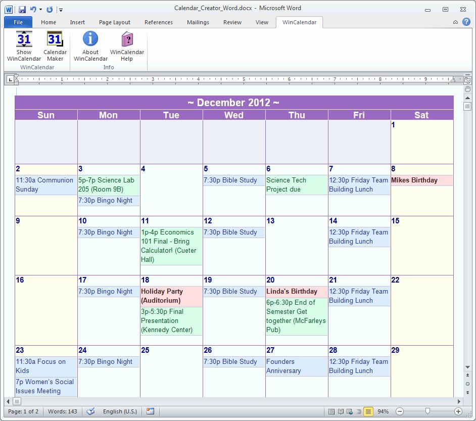 Ms Office Schedule Template Unique Calendar Template Microsoft Word – Calendar Template 2018