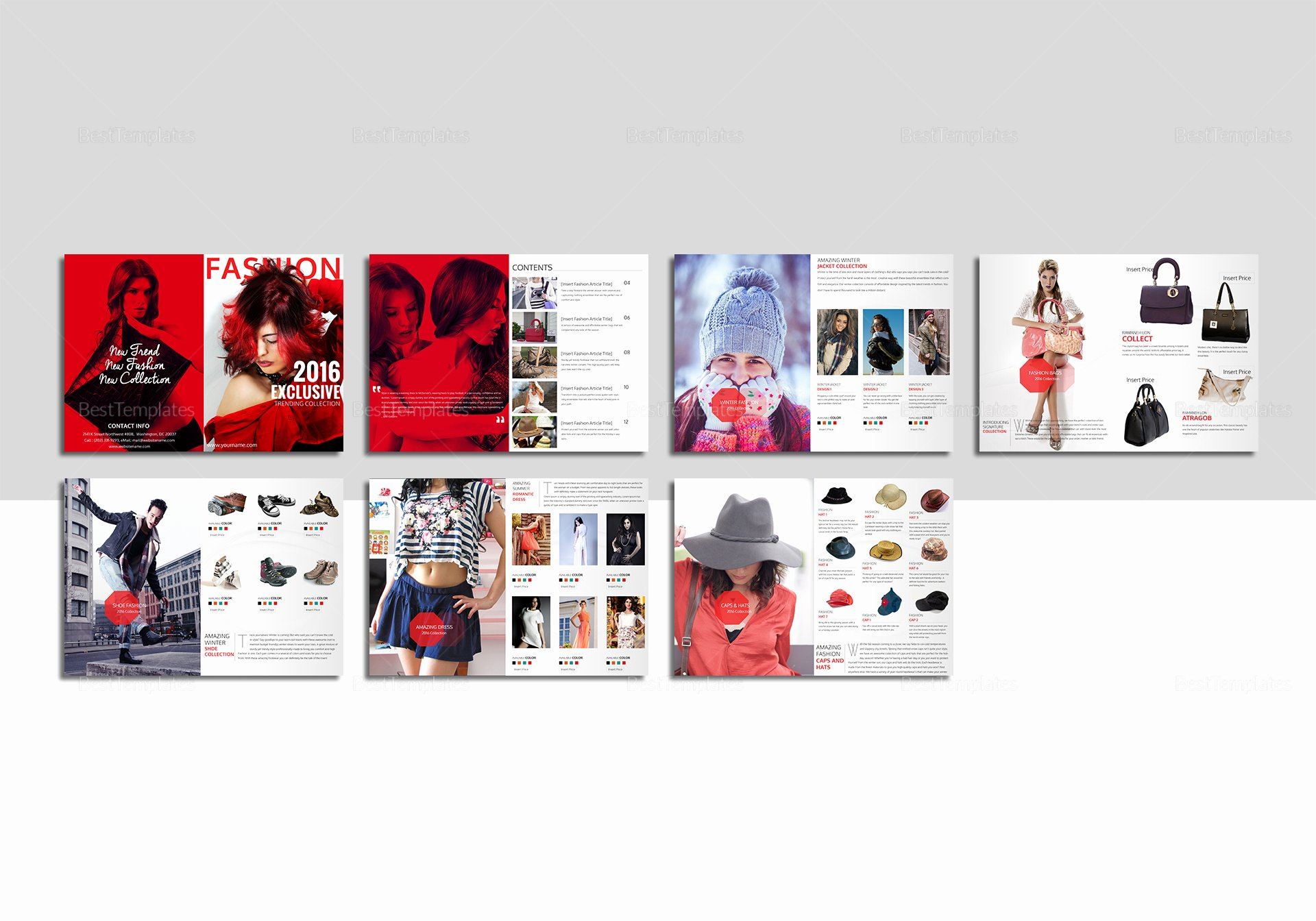 Ms Publisher Catalog Template Beautiful Fashion Catalog Template In Psd Word Publisher Indesign