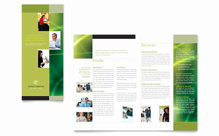 Ms Publisher Catalog Template Best Of Internet Marketing Tri Fold Brochure Template Design