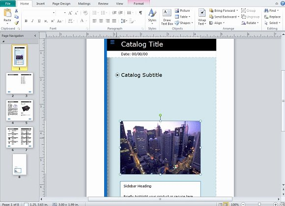 Ms Publisher Catalog Template Elegant Creating and Publishing Catalogs for Your Business Using
