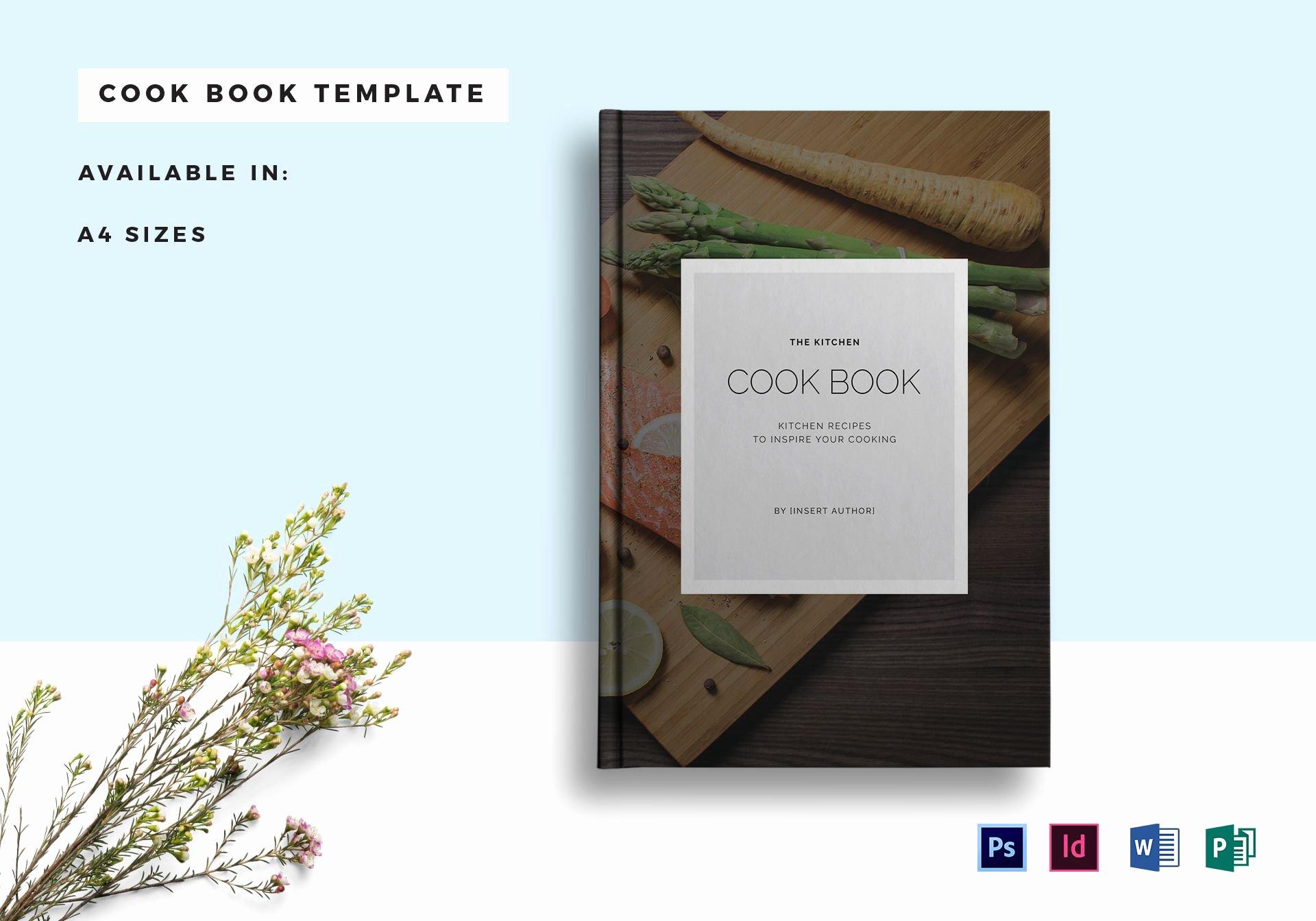 Ms Publisher Catalog Template Elegant Recipe Cookbook Catalog Template In Psd Word Publisher