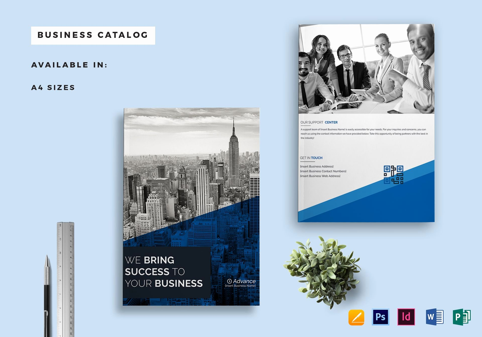 Ms Publisher Catalog Template Luxury Business Catalog Template In Psd Word Publisher