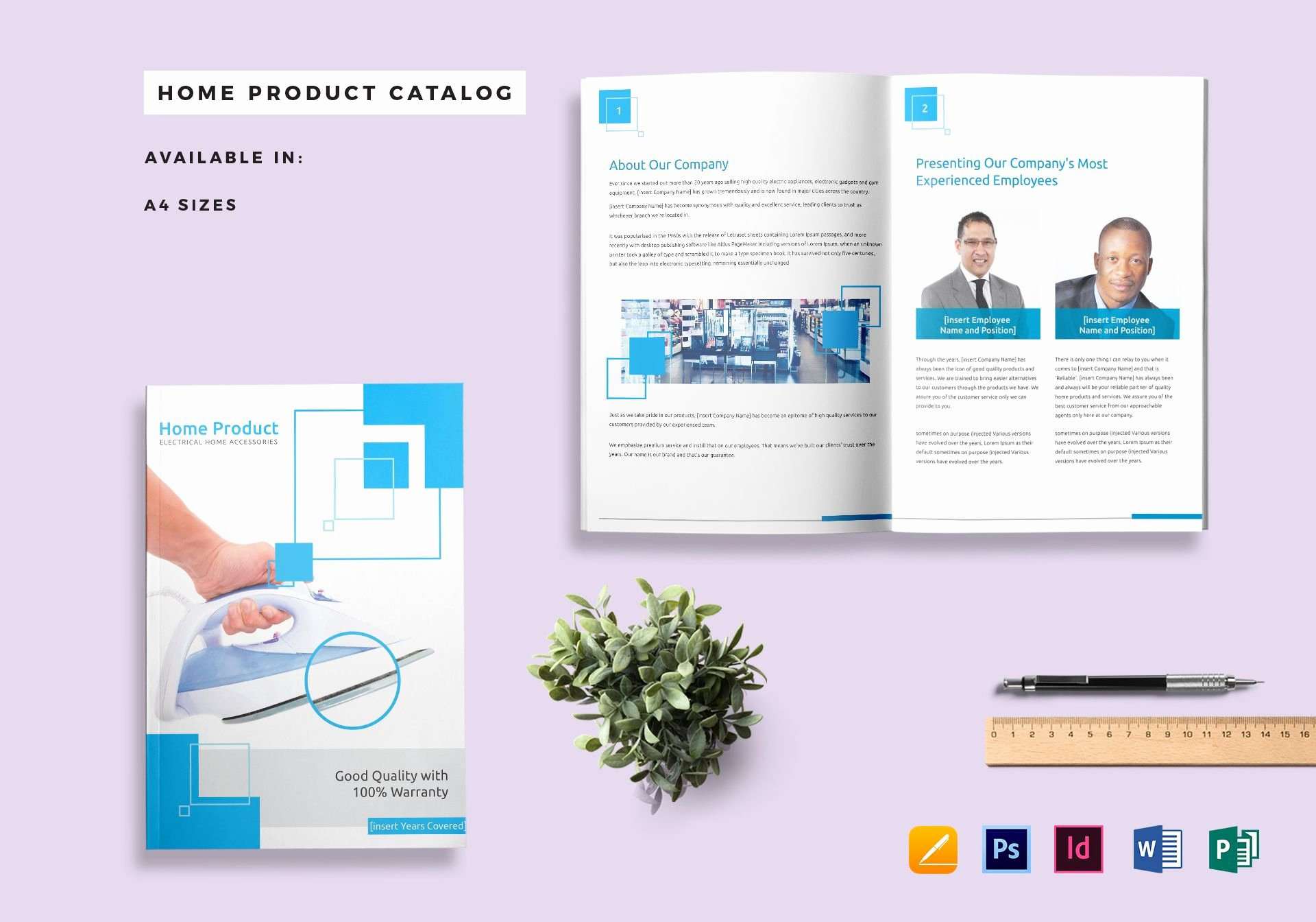 Ms Publisher Catalog Template New Home Product Catalog Template In Psd Word Publisher