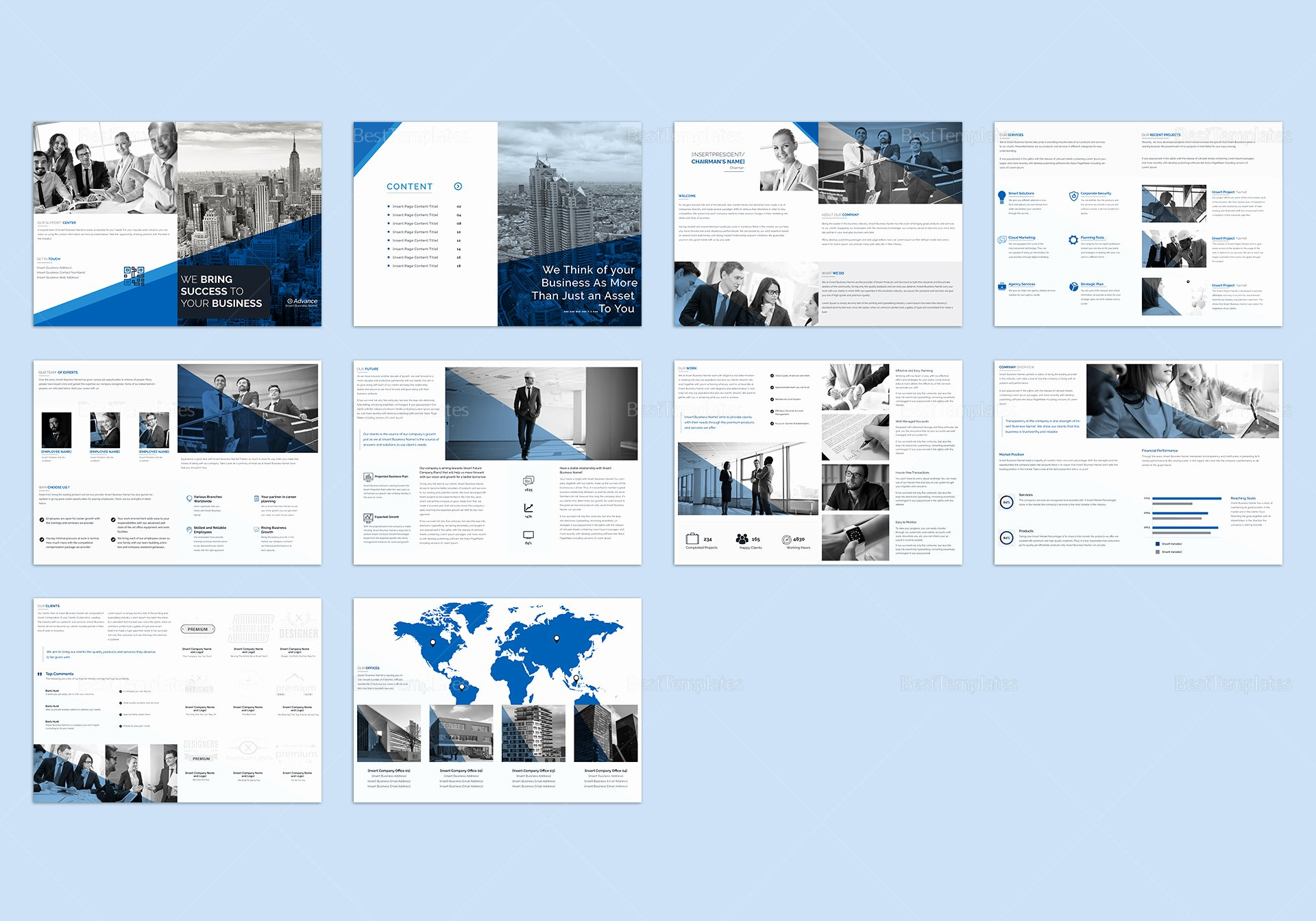 Ms Publisher Catalog Template Unique Business Catalog Template In Psd Word Publisher