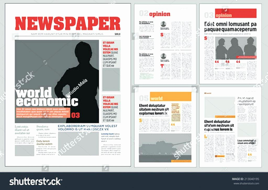 Ms Publisher Newsletter Template Best Of Free Newsletter Templates Word 2010 Template