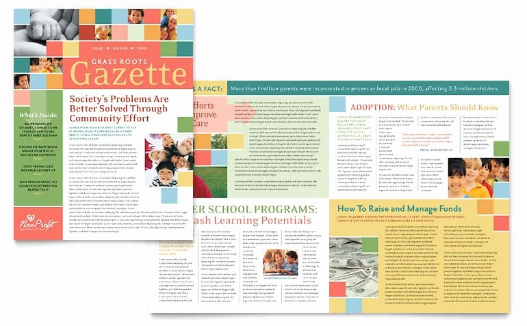 Ms Publisher Newsletter Template Fresh Microsoft Word 2007 Newsletter Templates