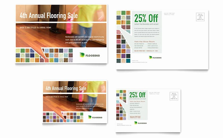 Ms Publisher Postcard Template Inspirational Carpet & Hardwood Flooring Postcard Template Word