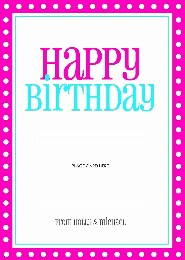 Ms Word Birthday Card Template Inspirational Birthday Cards Templates Word