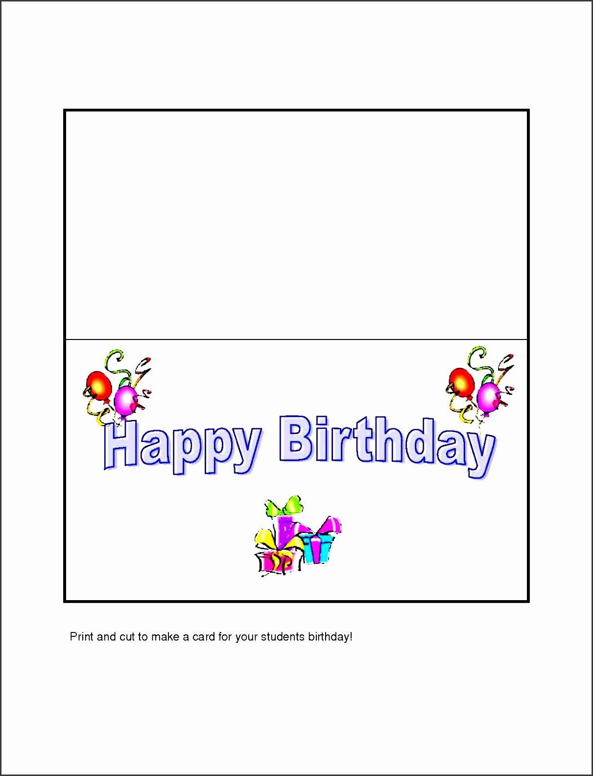 Ms Word Birthday Card Template Lovely 10 Free Microsoft Word Greeting Card Templates