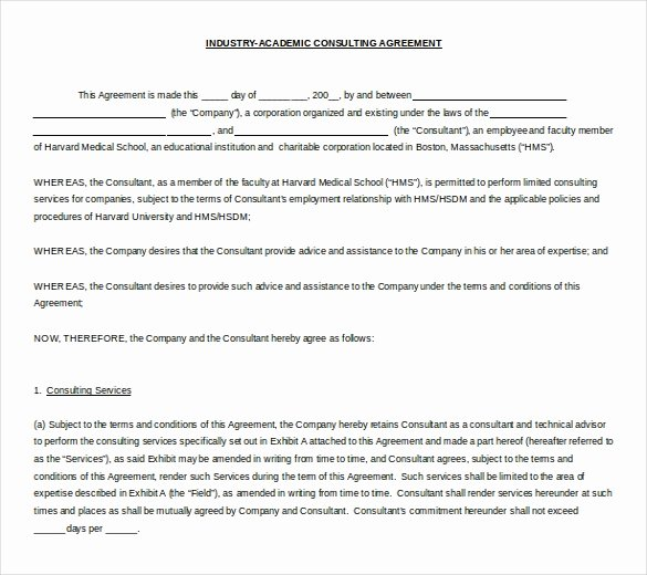 Ms Word Contract Template Awesome 10 Microsoft Word Contract Templates Free Download