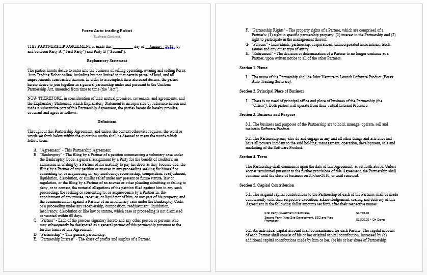 Ms Word Contract Template Fresh Contract Templates Archives Microsoft Word Templates