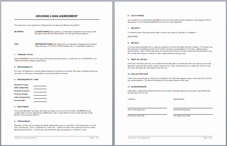 Ms Word Contract Template Inspirational Contract Templates – Microsoft Word Templates