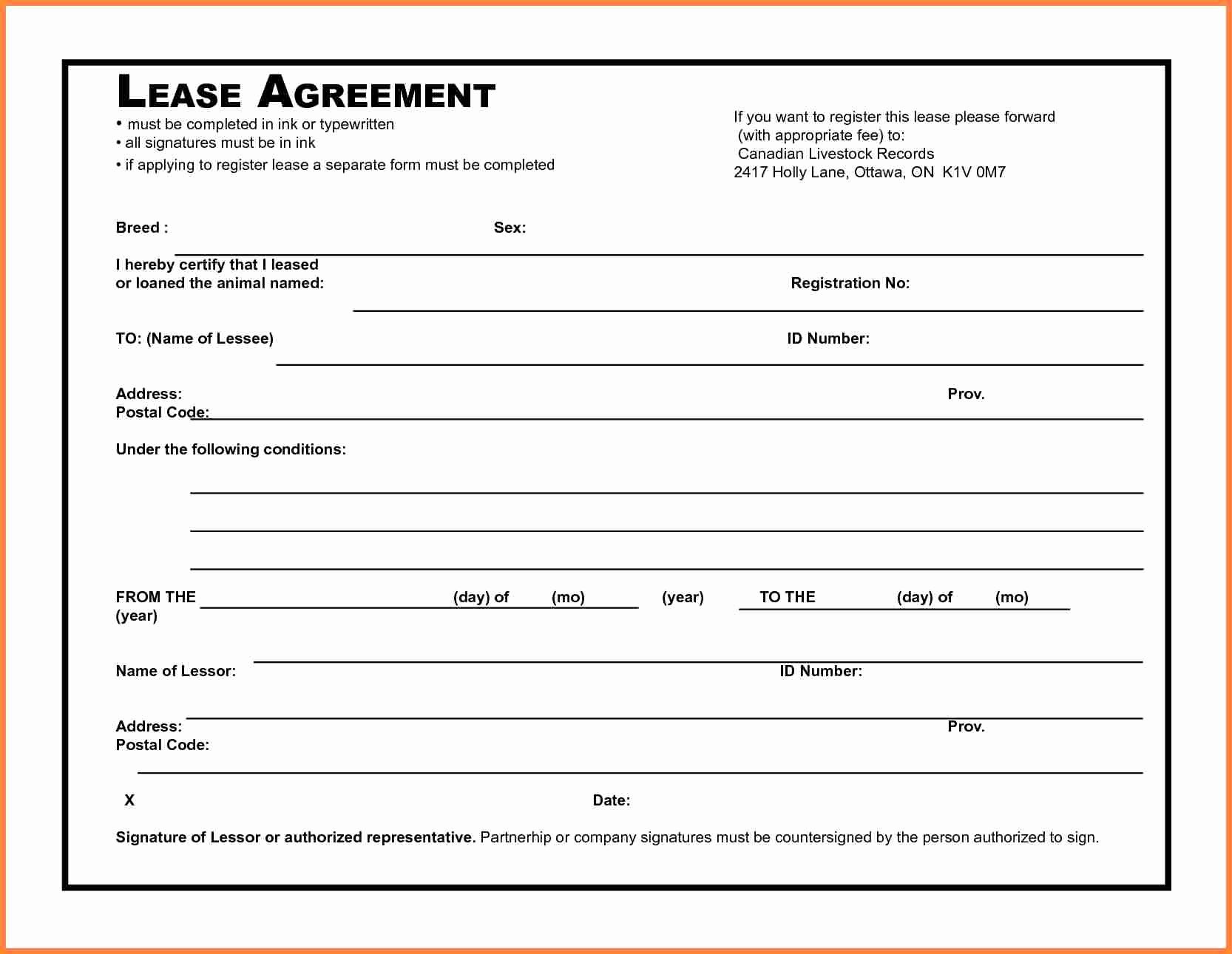 Ms Word Contract Template Lovely 5 Microsoft Word Lease Agreement Template