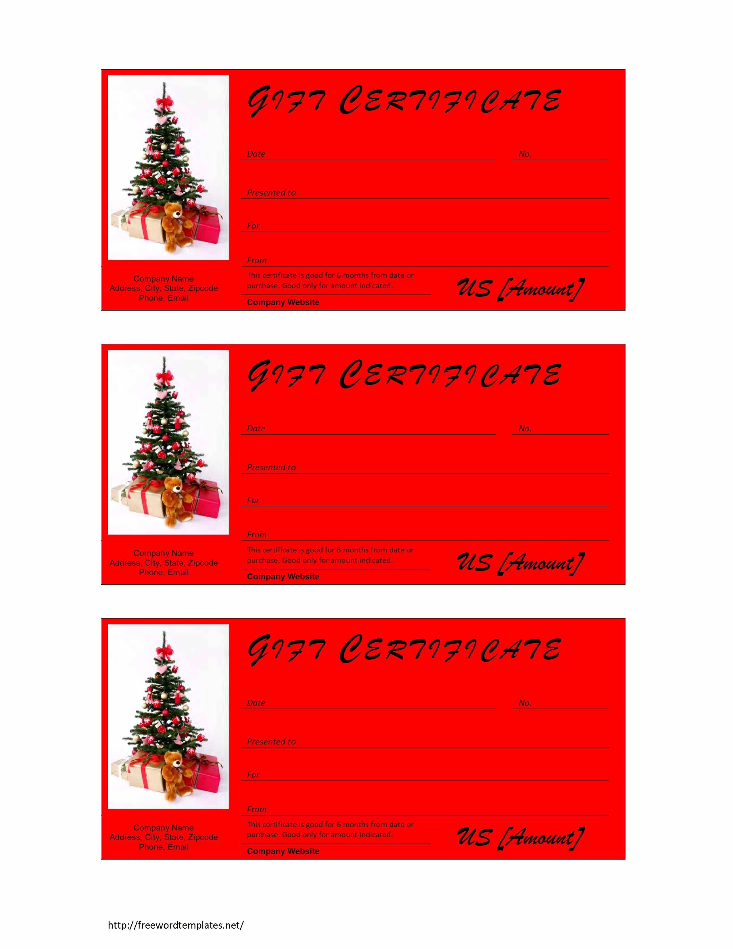 Ms Word Gift Certificate Template Awesome T Card