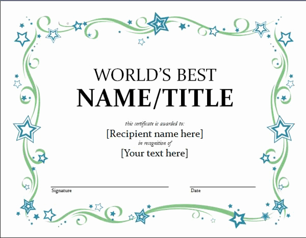 Ms Word Gift Certificate Template Lovely Free Gift Certificate Templates Microsoft Word Templates