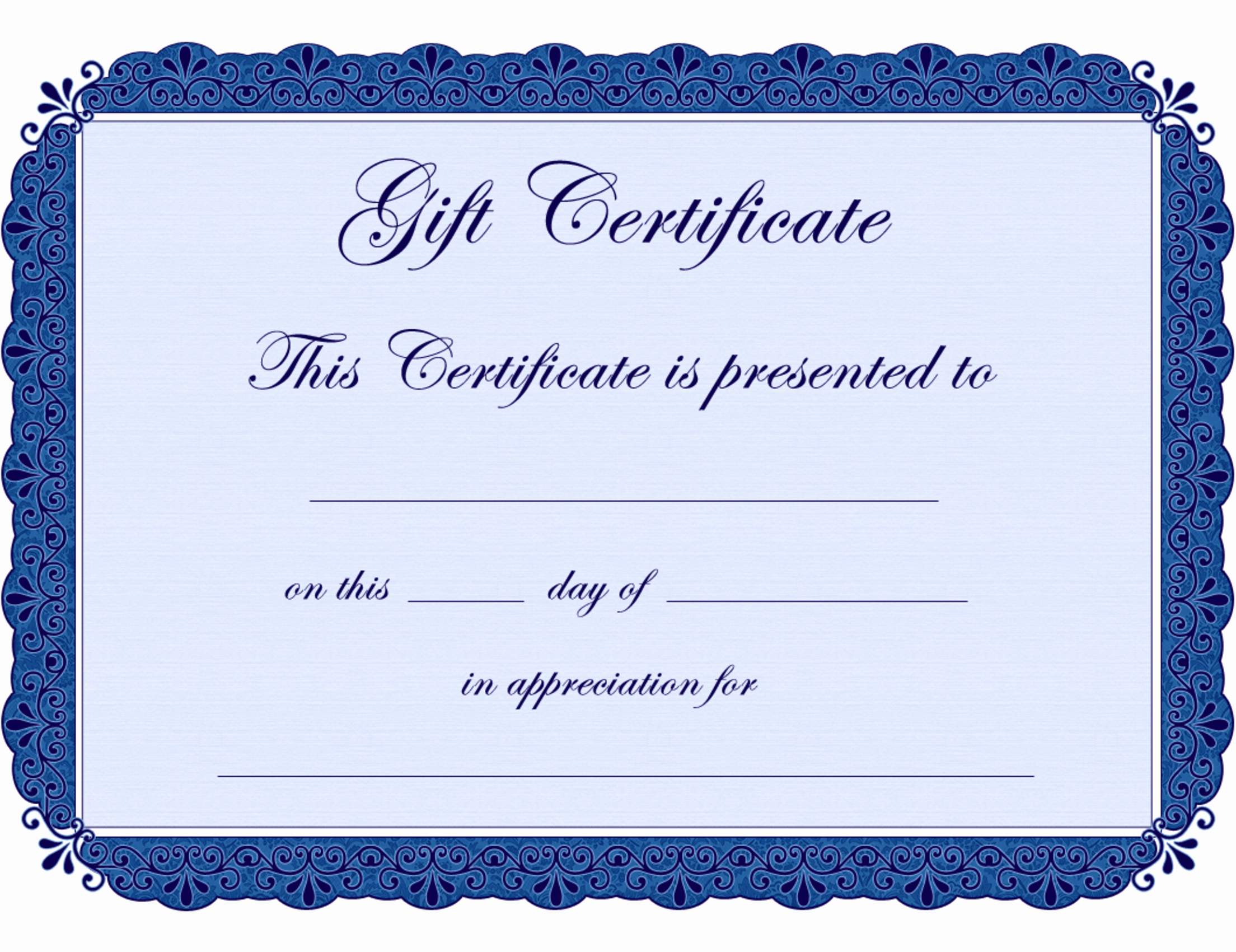 Ms Word Gift Certificate Template Lovely Gift Certificate Templates Microsoft Fice Templates