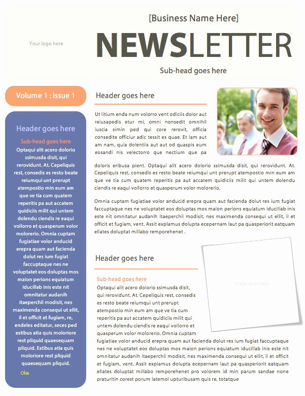 Ms Word Newsletter Template Free Beautiful Awesome Word Newsletter Template
