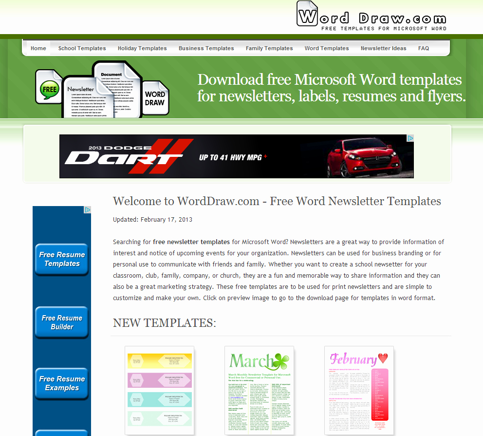 Ms Word Newsletter Template Free Elegant Learning Never Stops Word Draw Free Newsletter