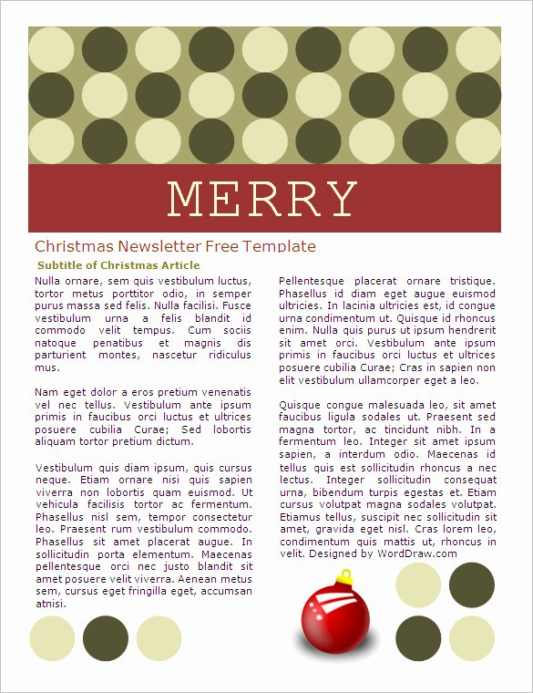 Ms Word Newsletter Template Free Fresh 27 Microsoft Newsletter Templates Doc Pdf Psd Ai