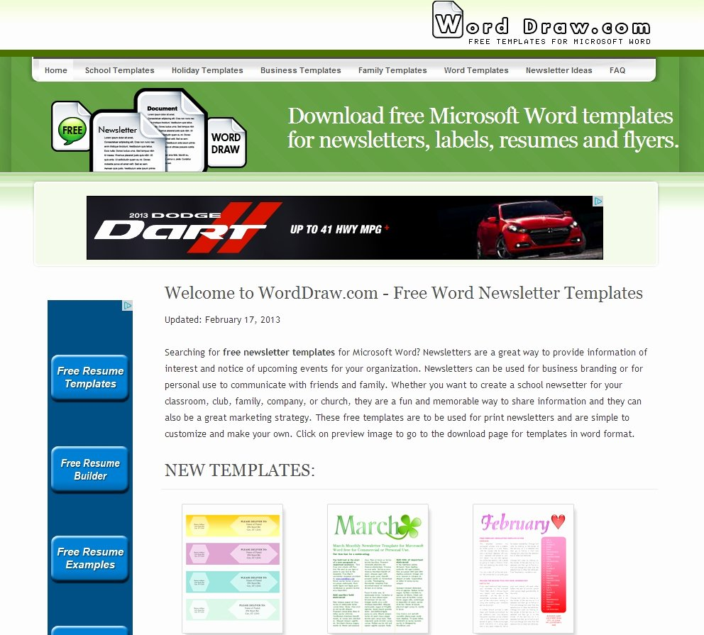 Ms Word Newsletter Template Free Lovely Dinner Party Menu Templates Free Download