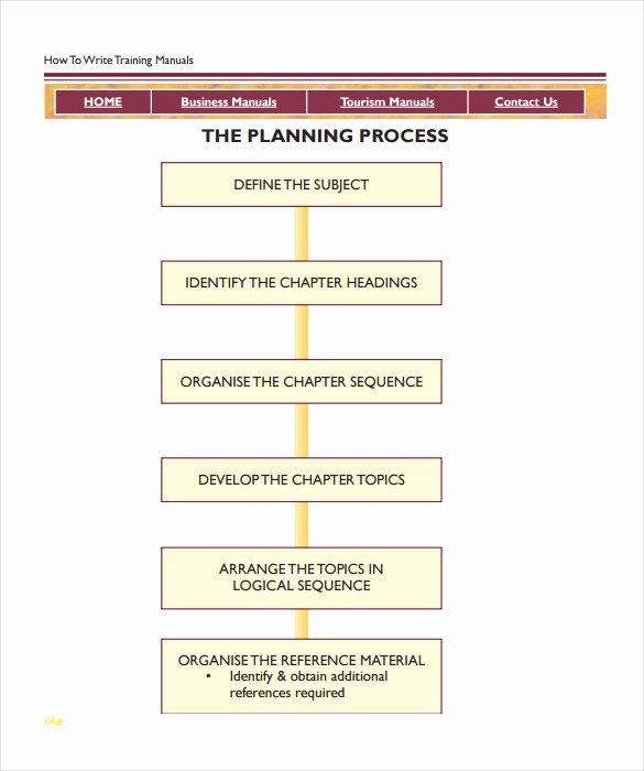 Ms Word Training Manual Template Fresh Beautiful Training Manual Template Word