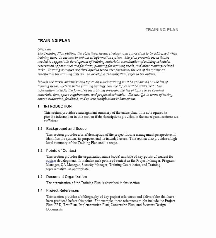 Ms Word Training Manual Template Unique Training Manual 40 Free Templates & Examples In Ms Word
