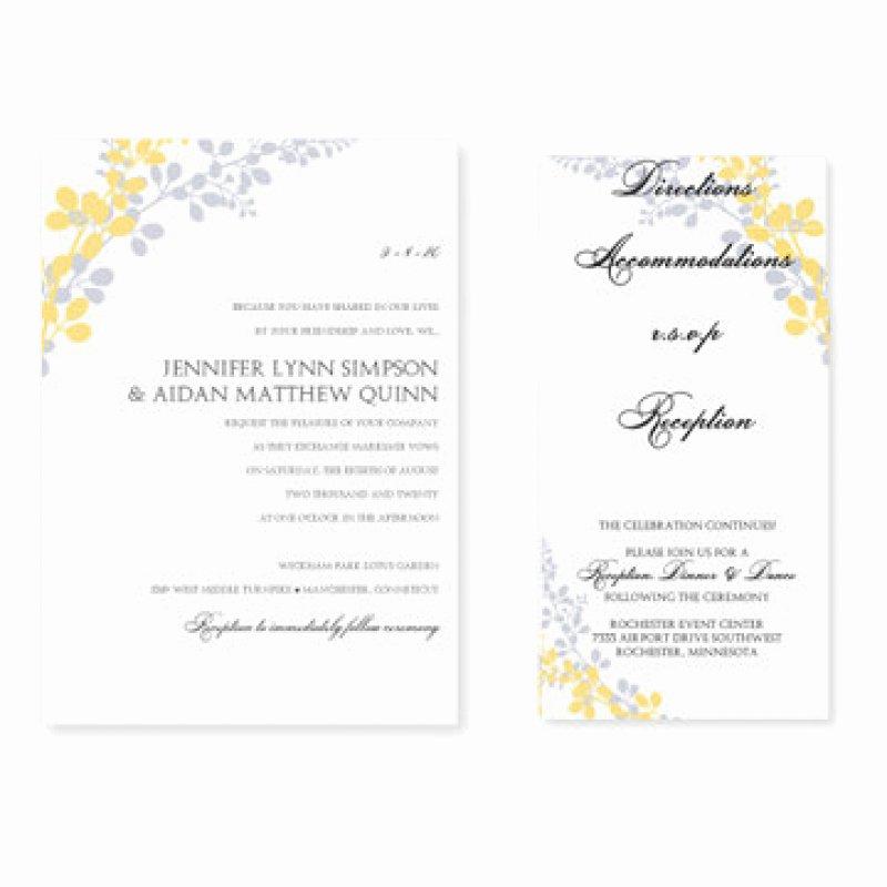 Ms Word Wedding Invitation Template Elegant Ms Word Invitation Templates Free Download