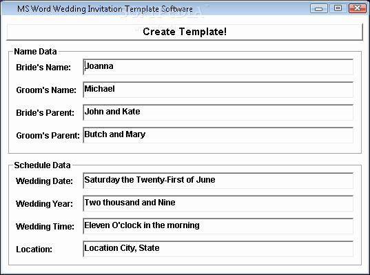 Ms Word Wedding Invitation Template Elegant Ms Word Wedding Invitation Template software Download