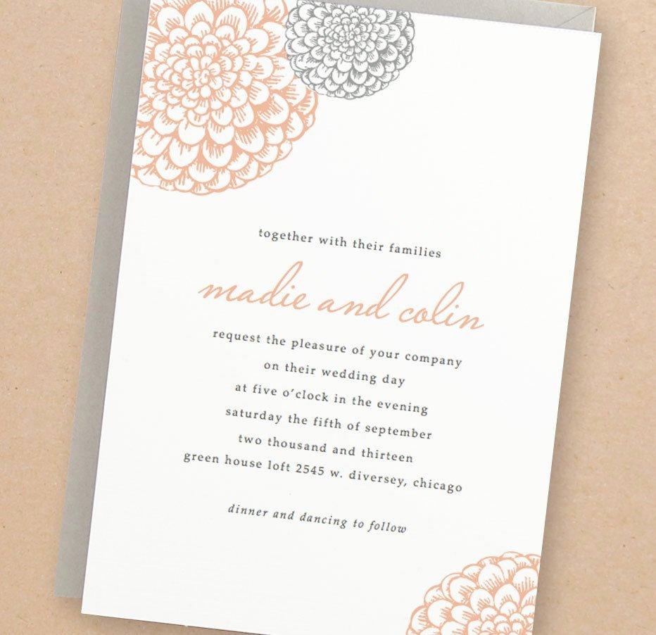 Ms Word Wedding Invitation Template Fresh Printable Wedding Invitation Template Instant Download