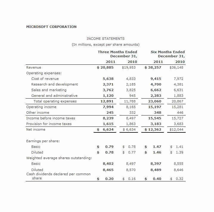 Multi Step Income Statement Template Best Of 27 Free In E Statement Examples & Templates Single