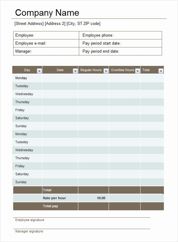 Multiple Employee Timesheet Template Awesome Free Printable Multiple Employee Time Sheets Excel
