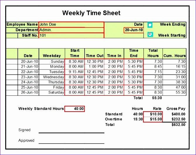 Multiple Employee Timesheet Template Lovely 10 Excel Timesheet Template for Multiple Employees