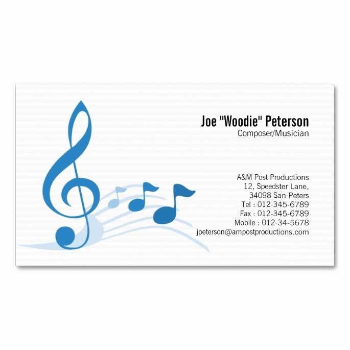 Music Business Card Template Elegant 1000 Images About Music Business Card Templates On