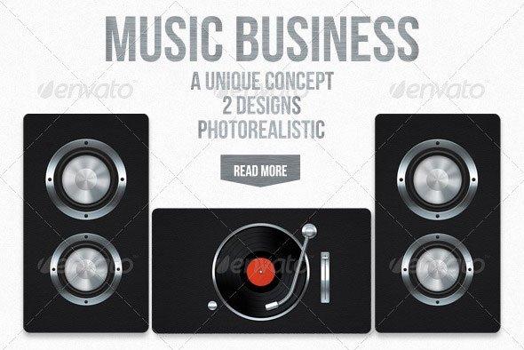 Music Business Card Template Elegant 20 Creative Business Card Templates that Help You Stand