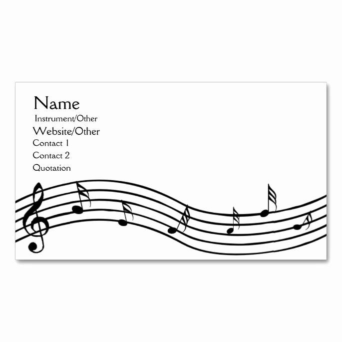 Music Business Card Template Inspirational 2150 Best Music Business Card Templates Images On