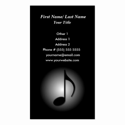 Music Business Cards Template Elegant Premium Music Business Card Templates Page7
