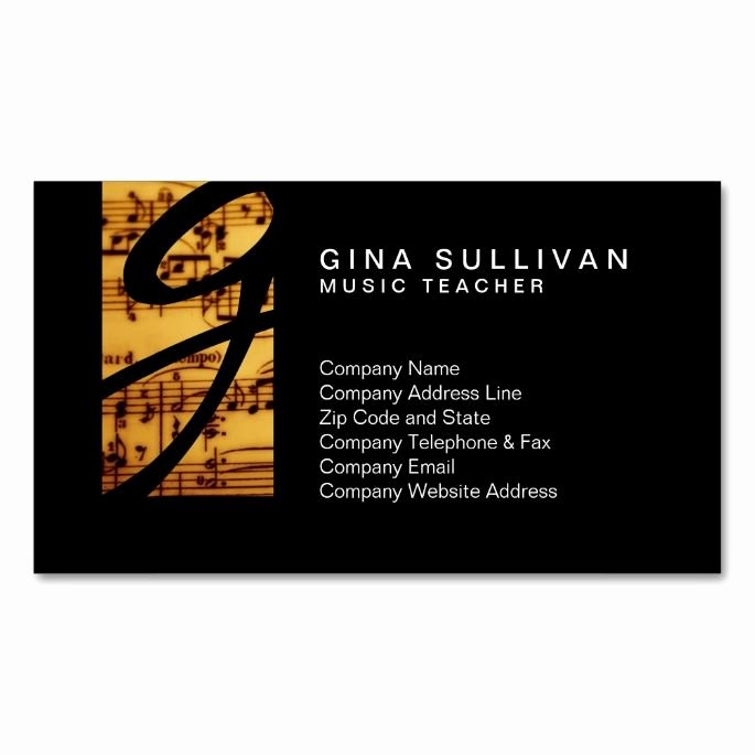 Music Business Cards Template Lovely 2150 Best Images About Music Business Card Templates On