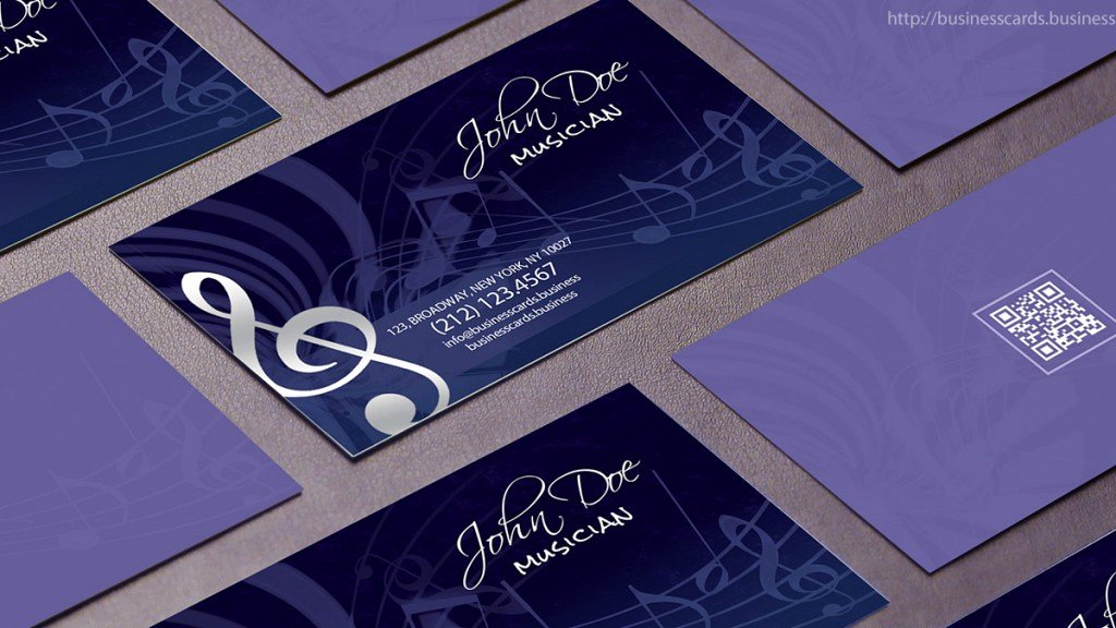 Music Business Cards Template Unique Free Music Business Card Template Business Cards Templates