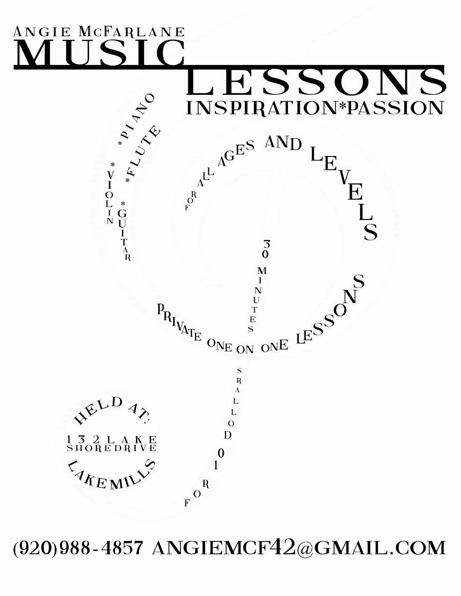 Music Lesson Flyer Template Inspirational Music Lesson Flyer