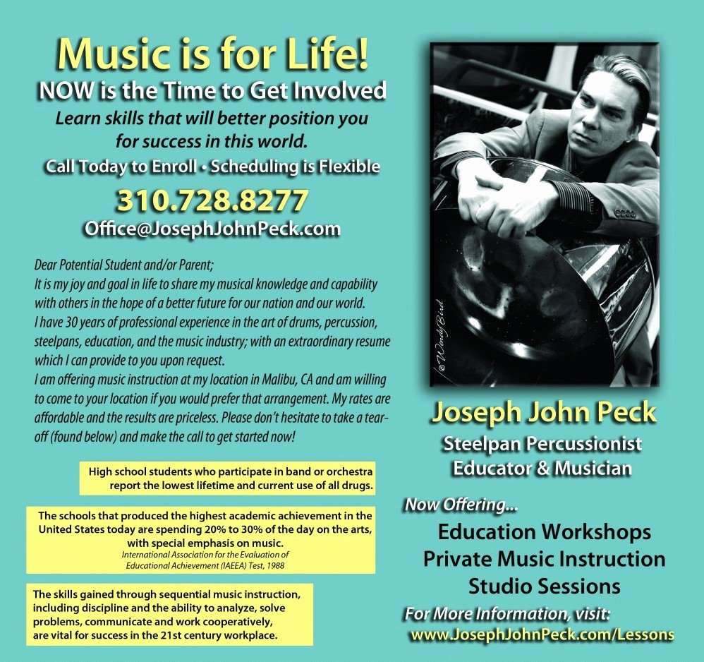Music Lesson Flyer Template Luxury Panhead Music & Entertainment